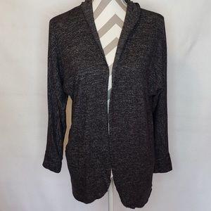 American Eagle Soft & Sexy Hooded Cardigan Medium